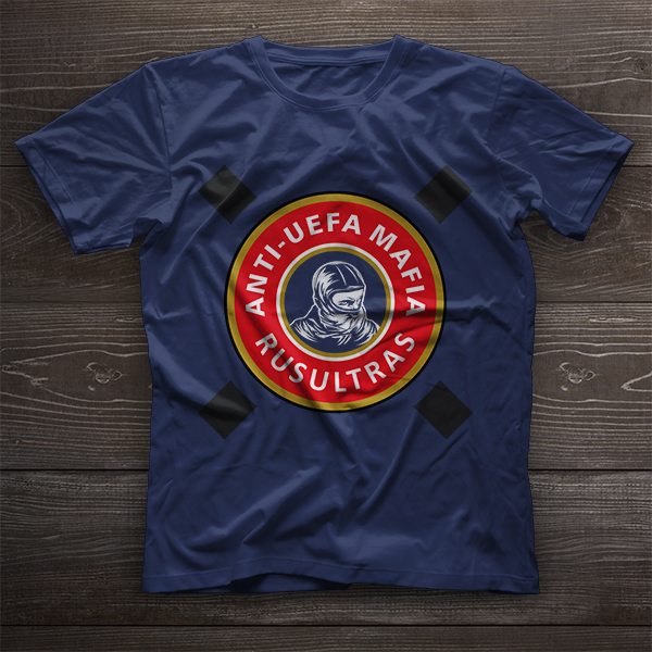 T-Shirt Anti - UEFA Mafia