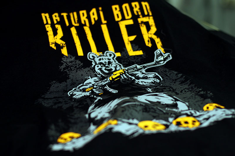 Футболка Natural Born Killer