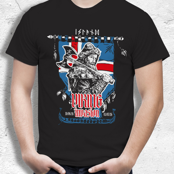 T-Shirt Viking Invasion