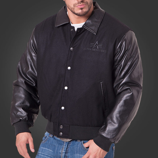 new arrival c2bc1 4faef Куртка Jacket College Big A от Alpha Industries