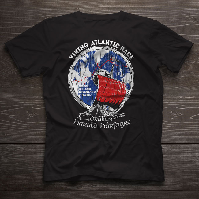 T-Shirt Viking Atlantic Race